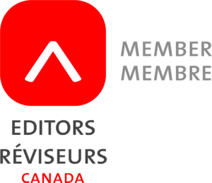 Toronto freelance editor Carmen Siu is a member of Editors Canada.